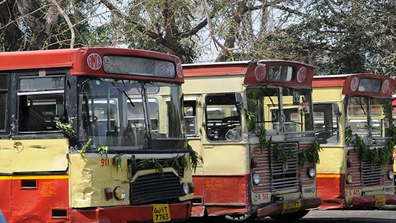 AMTS scrap Scandal in Ahmedabad lal bus