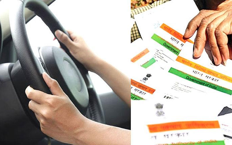 want to link aadhaar with your driving licence online follow these steps
