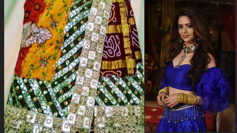 Tellyoood Actress Aamna Sharif took one lakh saree from Gujarat