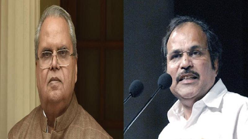 Congress leader Adhir Ranjan Chowdary says Satya Pal Malik should be bjp leader