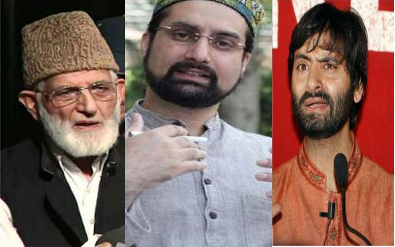 Kashmiri separatists family and wards are settled in foreign and they play with locals future