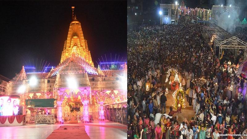 Bhadarvi poonam mela at Ambaji in Gujarat