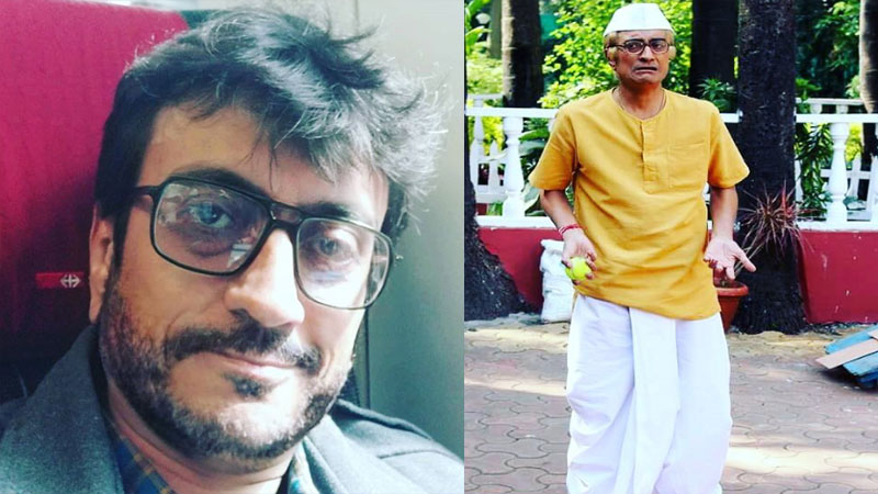 Amit bhatt aka bapuji of tv show taarak mehta ka ooltah chashmah looks very smart cool in Real Life