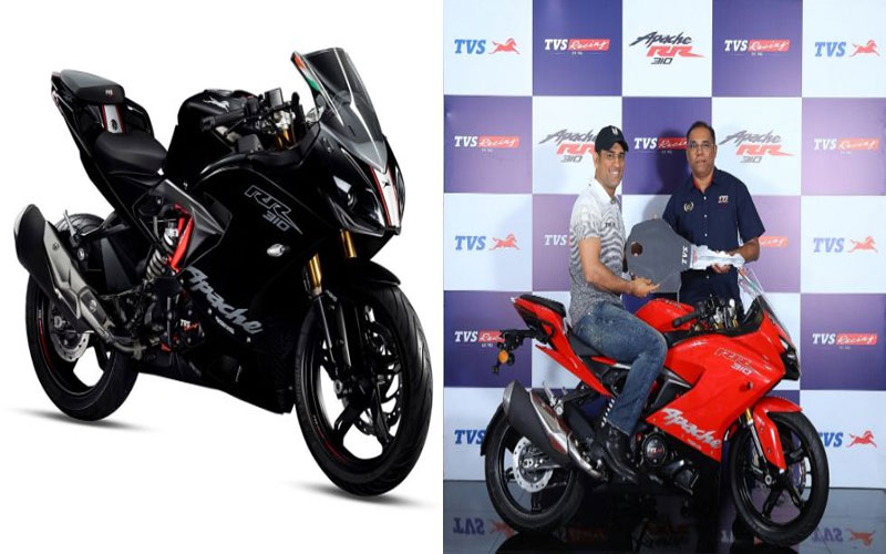 2019-tvs-apache-rr-310-launched-ms-dhoni-becomes-first-owner