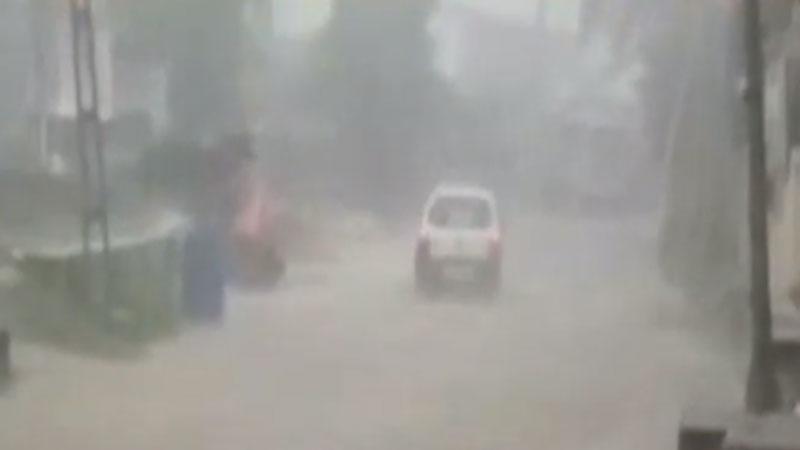 Rainfall in Aravalli and Sabarkantha