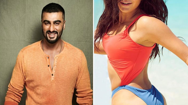 Bollywood actor Arjun Kapoor always comments on Katrina kaif photos and videos