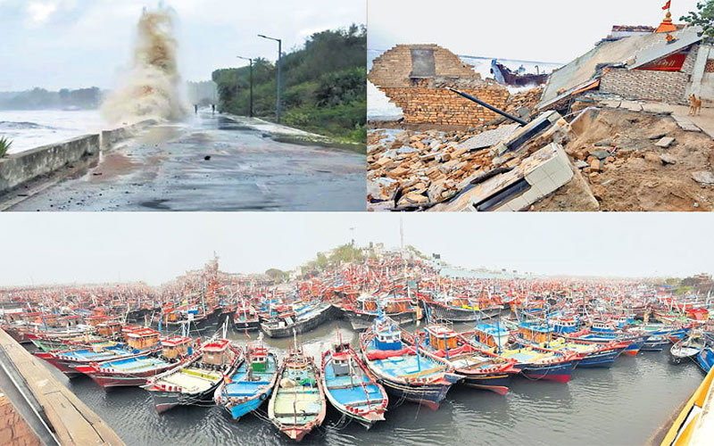 Cyclone Vayu Fishermen 3 million losses: Arjun Modhwadia