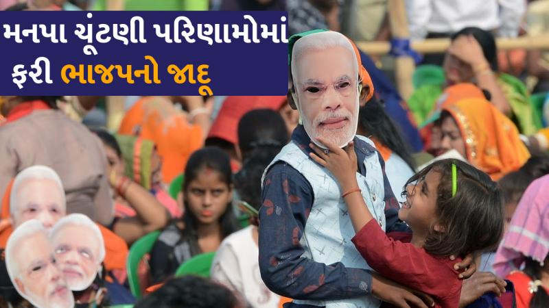 GUJARAT local body election 2021 : ELECTION RESULTS LIVE