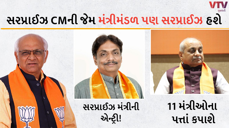 big news on new cabinet in gujarat as bhupendra patel will have new team