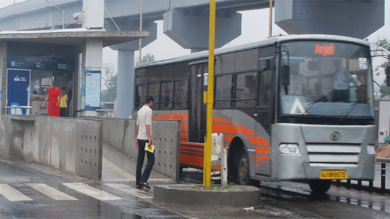 Ahmedabad AMTS service end because of BRTS