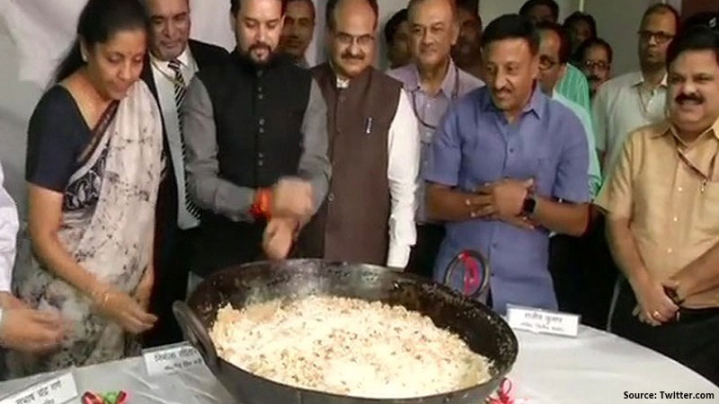 budget 2020  will begin today with halwa ceremony Today