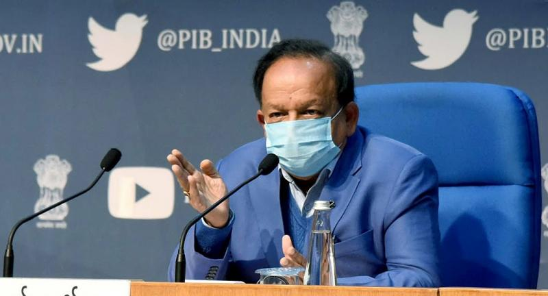 the biggest statement given by union health minister about current covid condition in india