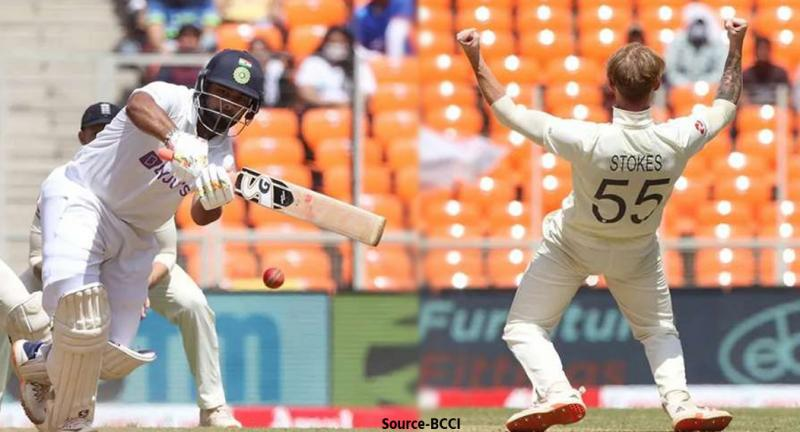 cricket-rishabh-pant-hit-a-sharp-boundary-angry-ben-stokes-did-this-act-on-the-field