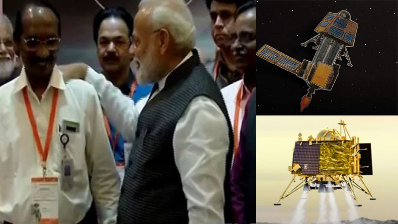 Vikram intact in one piece Isro making all out efforts to restore link with Chandrayaan-2 lander