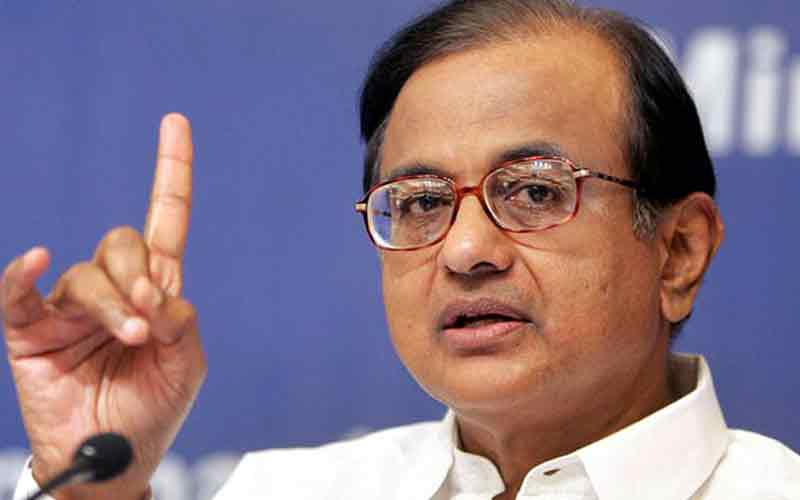 P Chidambaram claims IT raids being planned at his residence