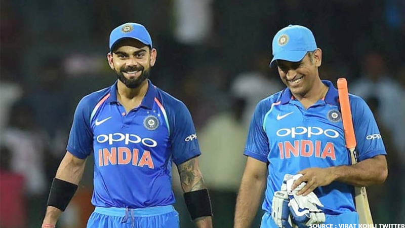 m s dhoni will not play for india now ? virat gave big statement
