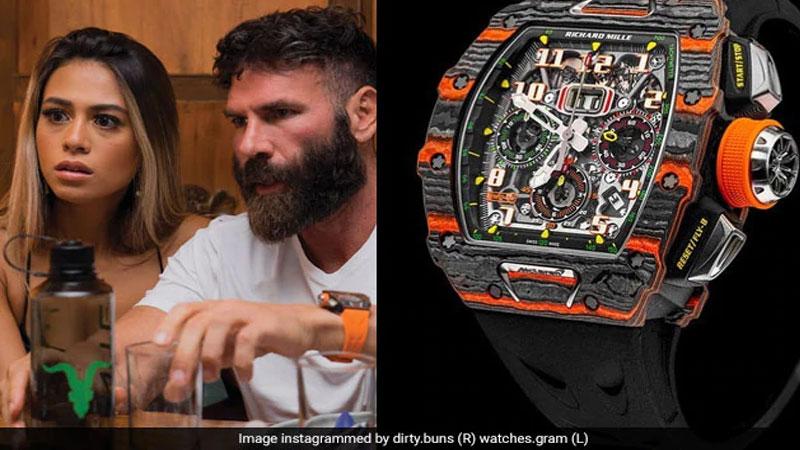 American poker And Playboy Millionaire Dan Bilzerian Watch Cost in rs