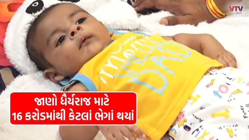 Gujaratis gave so much donation for Dhairyaraj Singh in 20 days