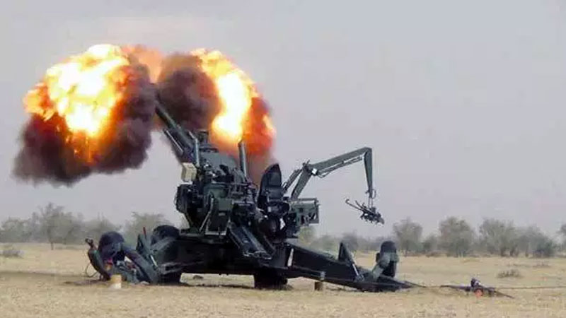 Army inducts Dhanush howitzer, American precision-guided Exalibur artillery ammunition