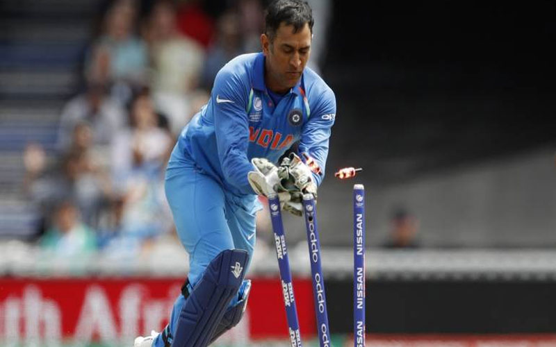 Ms dhoni wicketkeeping rishabh pant india vs bangladesh icc cricket world cup 2019