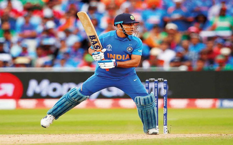 Know Why MS Dhoni Has Been Changing Bat With Different Logos This World Cup