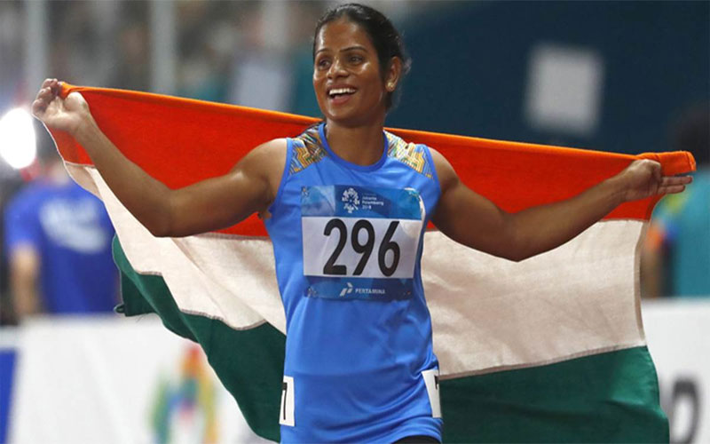 Dutee Chand First Indian Woman To Win 100m Gold In World Universiade