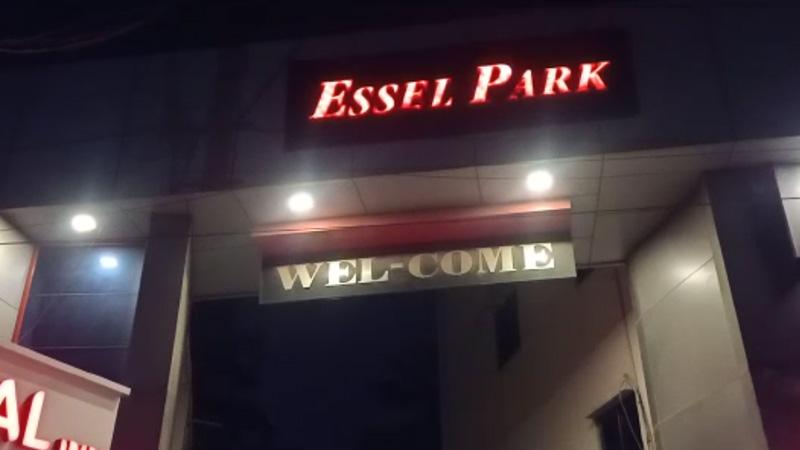 Police and SOG raided BJP leader Karshan Dhaduk Essel Park resort Junagadh