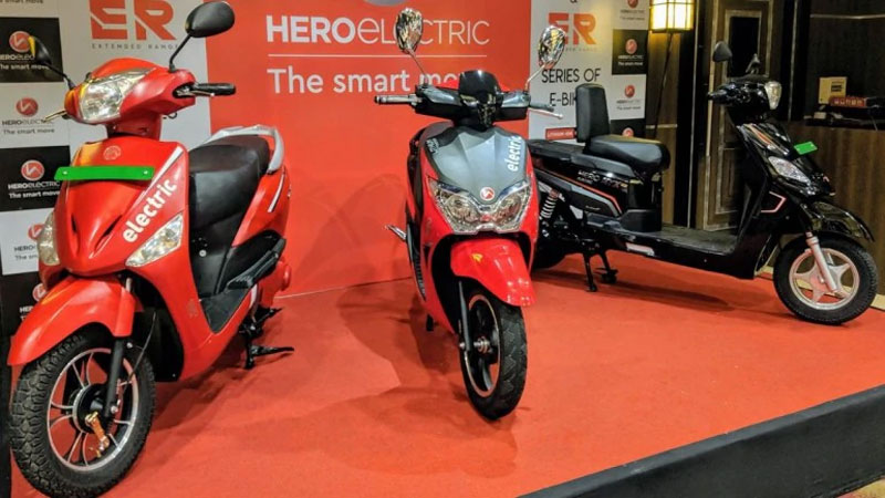 Hero Electric Dash E Scooter Launched and know the Price and Features