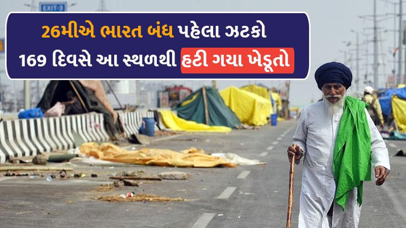 169-day-long blockade by protesting farmers, near Jandiala Guru railway station near Amritsar, has now been cleared