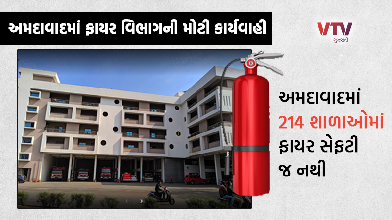 Major action of fire department in Ahmedabad, closure notice issued to 214 schools