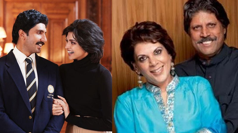 Deepika Padukones first look as Romi Dev from 83 out