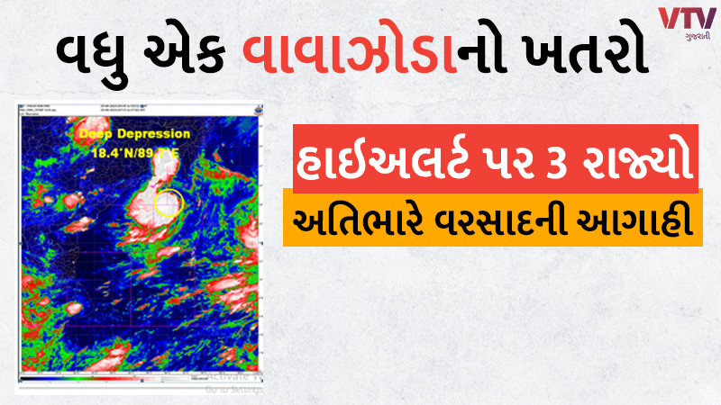 Cyclone Gulab Alert Cyclonic storm Gulaab is coming in these areas IMD issued yellow alert