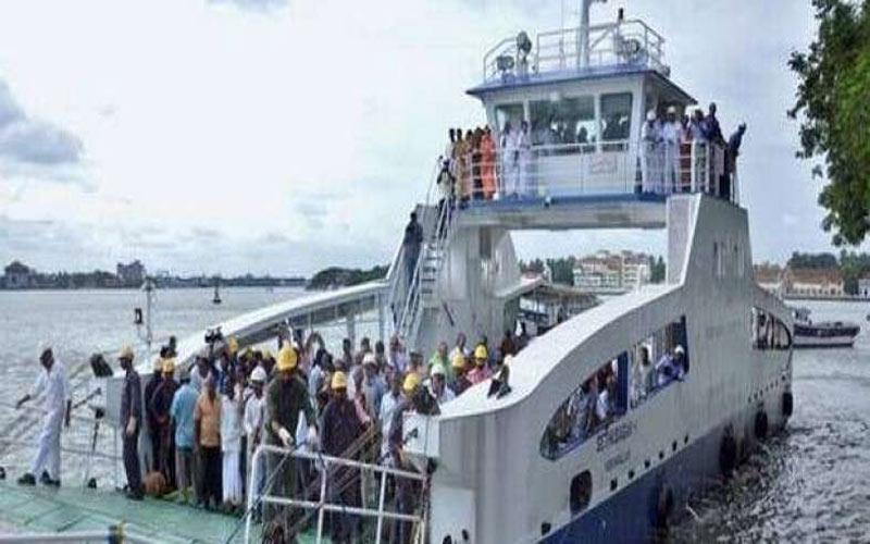 Bhavnagar Vayu Cyclone GhoGha Dahej Ro-Ro Ferry Service Stop