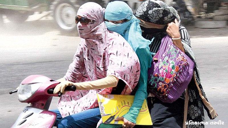 Girl angry on Traffic police jawan in Ahmedabad