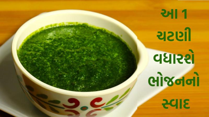 Make Healthy and Tasty Green Chutney from coriander leaves in Winter Season