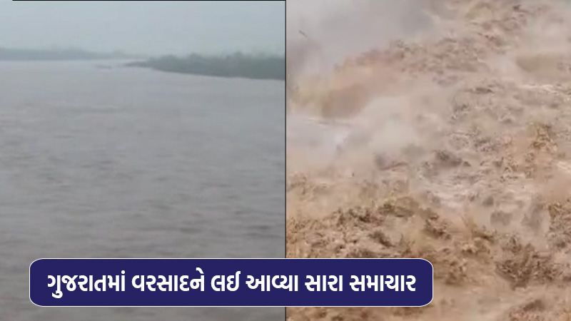 Gujarat received only 33 per cent of the season's rainfall, with the district receiving the highest rainfall of 33.70 per...