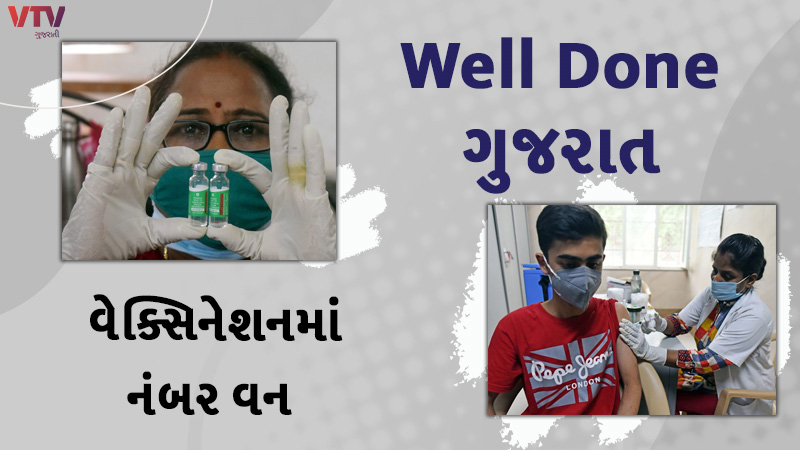 With so many percent vaccinations, Gujarat is the top in the country, this is the target by the end of July