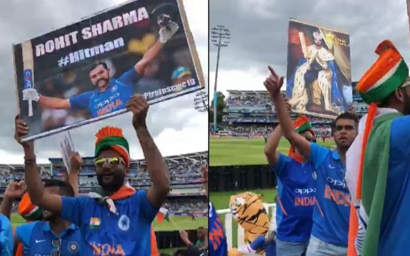 Gujju Fans Slogans In Support Of Team During India vs Bangladesh Match