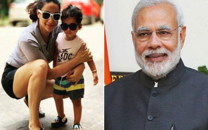 Prime minister narendra modi blesses actress gul panag son tweets her video