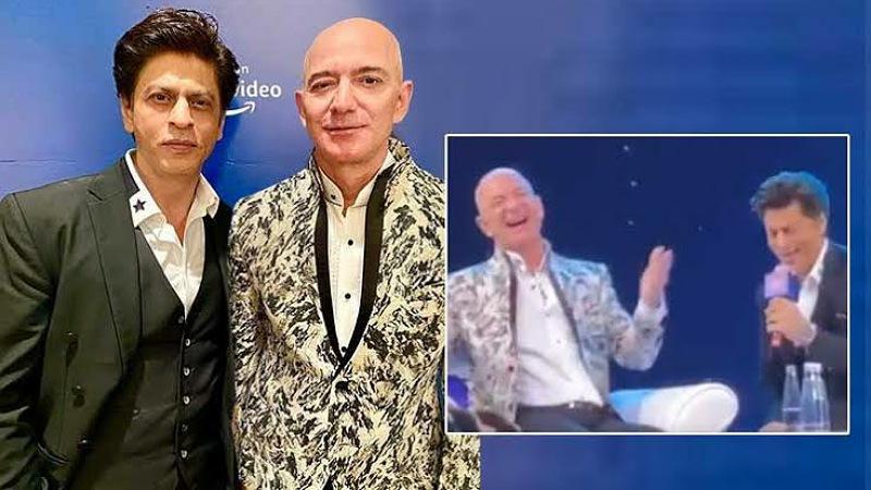 SRK Makes Amazon Boss try his hand at don dialogue