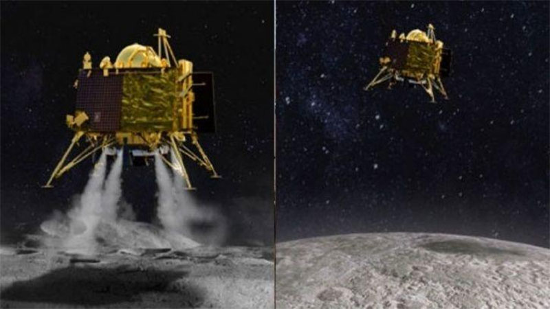 Isro moon mission chandrayaan vikram lander evening no hope for contact