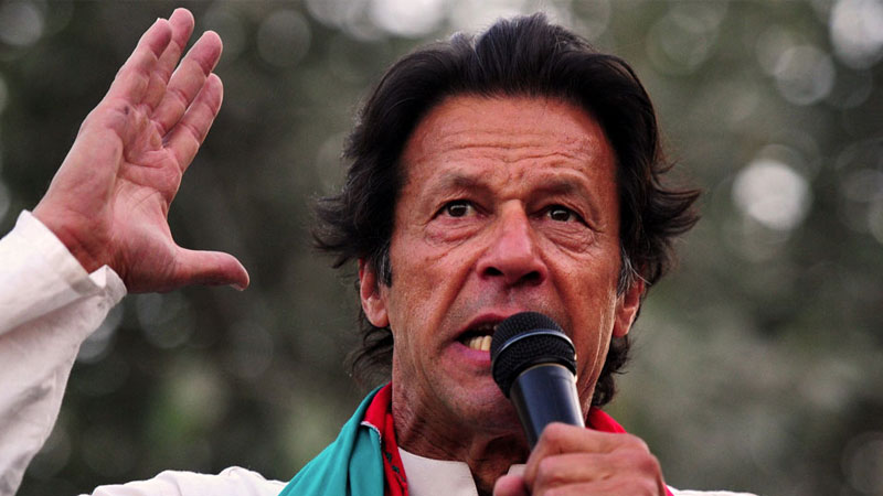Imran Khan pakistan instigated the people of pok saying the time has come to pick up the gun