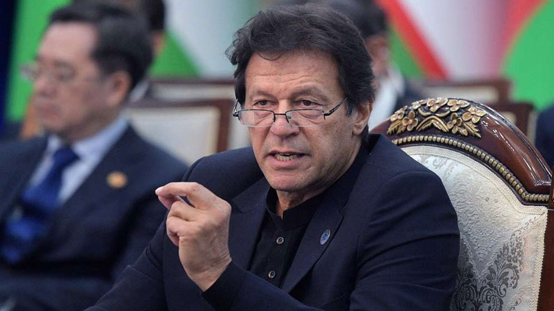 Imran Khan accepts pakistan give land to terrorist said jihadi became terrorists