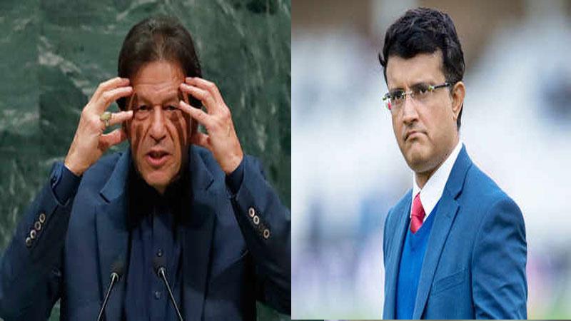 Former Indian Captain Sourav Ganguly Shocked At Imran Khan Speech Calls It Rubbish