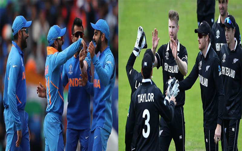world cup 2019 match between team india and new zealand