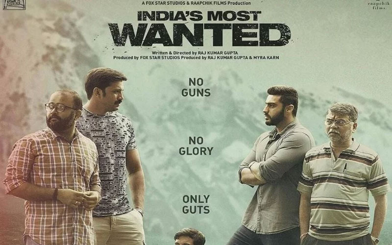 Arjun Kapoor film India's Most Wanted censor board cuted objected scenes