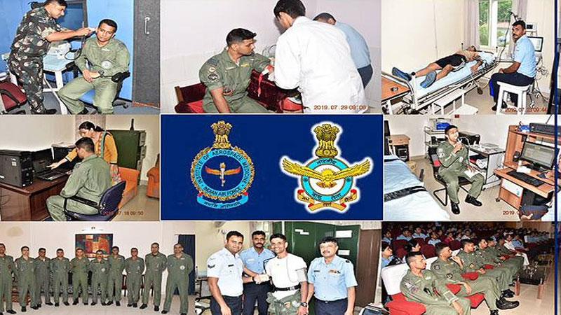 ISRO gaganyaan project chandrayaan indian air force pilot selected india space agency