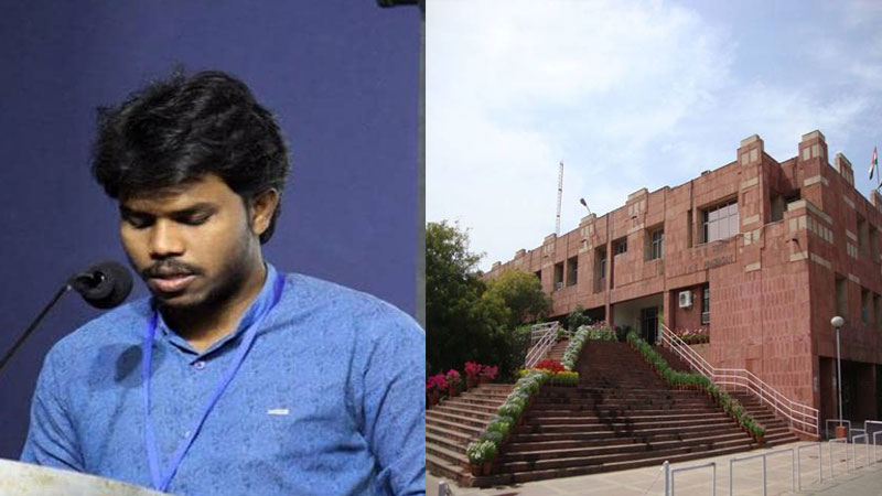 Who Is Jnusu President Candidate Jitendra Suna How Reach From Farm Labour To Phd Scholar In Jnu