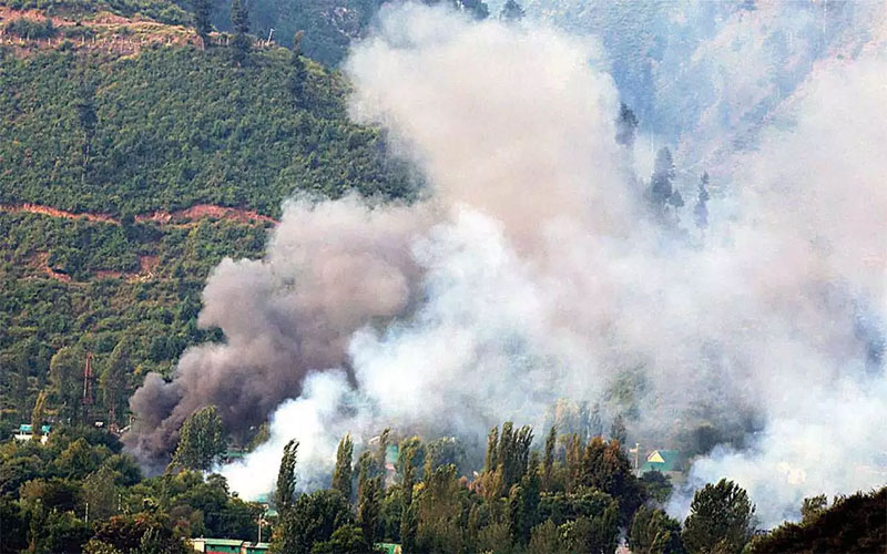 Jammu And Kashmir IED Blast Near LoC In Mendhar Of Poonch District