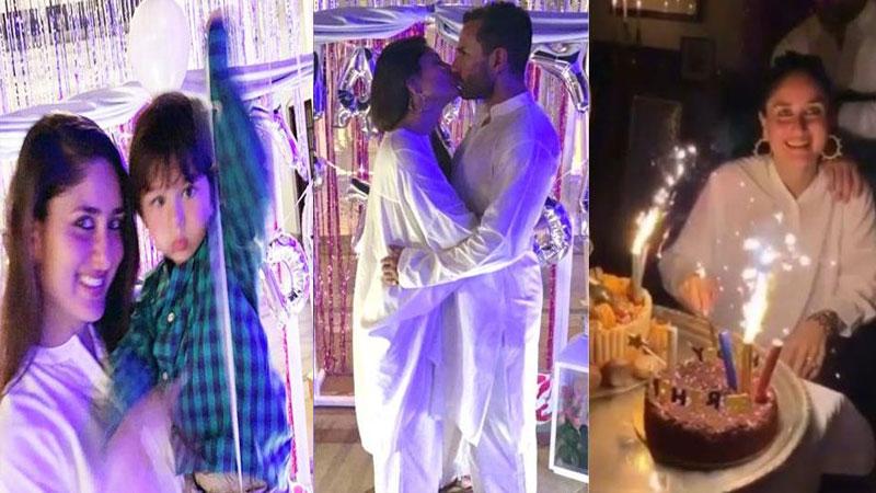 Kareena Kapoor Celebrate Birthday With Saif Ali Khan and taimur